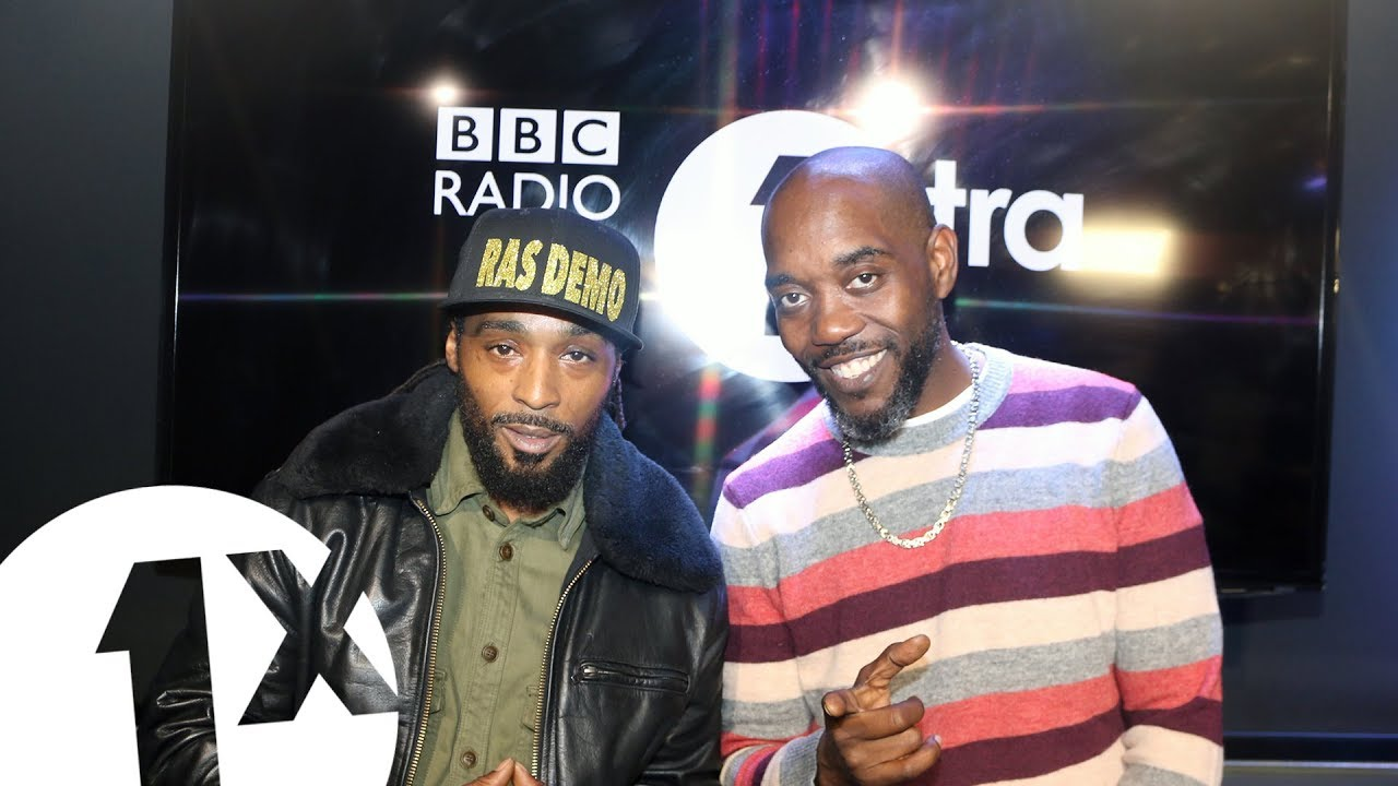 Ras Demo freestyles for Seani B on 1xtra