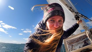 BEST SAIL to Jewel of the Maine Coast + Classic Wooden Schooner Tour - Sailing Vessel Delos Ep. 305