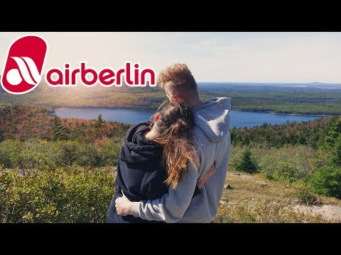 INDIAN SUMMER Maine 2017 | AIR BERLIN BANKRUPTCY | TRAVEL VLOG BOSTON | CAR CAMPING |BEN AND JERRYS