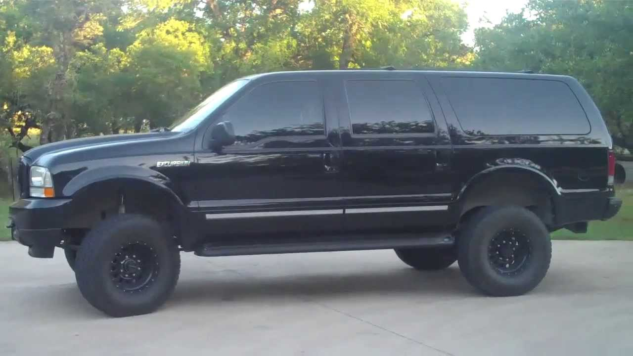 Blacked Out Ford Excursion Youtube
