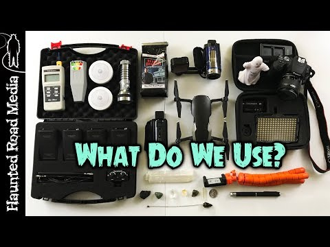 Ghost Hunting Equipment: What Do We Use On Paranormal Investigations?