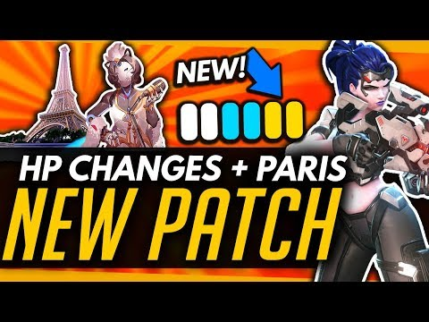 Overwatch | NEW PATCH! - Health Priority Changes + Paris Map thumbnail