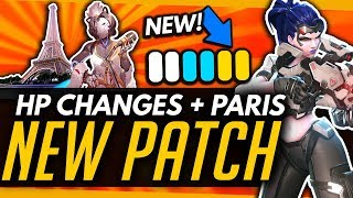 Overwatch   NEW PATCH! - Health Priority Changes + Paris Map