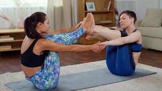 Стройные ноги за 20 минут в день