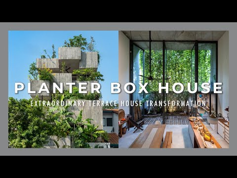 The Planter Box House | Malaysia's Extraordinary Homes | Architecture | Terrace House Transformation