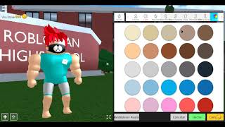 How to be Geko97 and Xonnek2 at Robloxian High School! Part 1