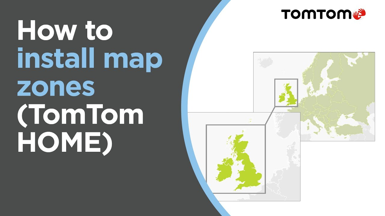 How To Install Map Zones Using TomTom HOME Europe Map YouTube - Tomtom gps usa map download free