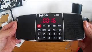 LEFON Dab FM AM Radio Dual Blu…