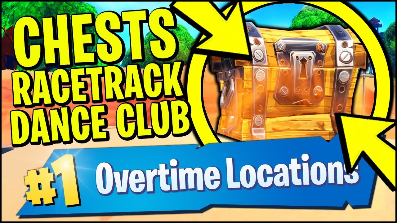 Search Chests Or Ammo Boxes At A Racetrack Or A Dance Club Fortnite
