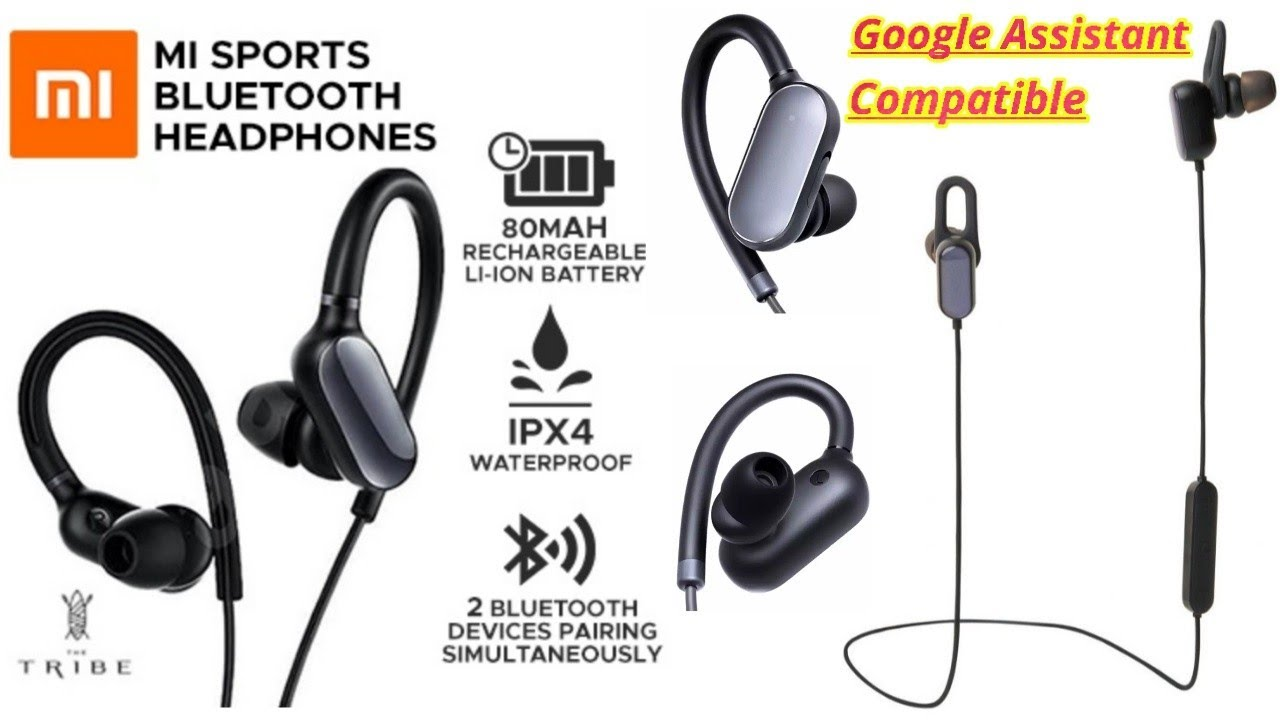 mi sports bluetooth earphones basic- Unboxing- GOOGLE ASSISTANT compatible-  best bluetooth earphones