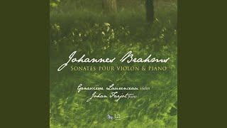 Sonate in D Minor, Op. 108: Un poco presto e con sentimento