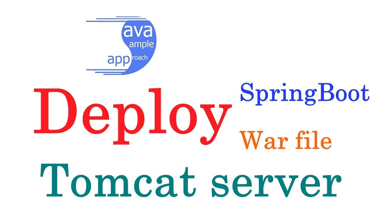 How to deploy Spring Boot Web App War file to Tomcat Server with Maven build