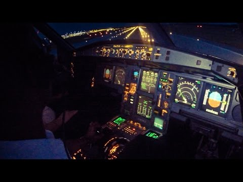 Piloting Airbus A340-600 out of Munich