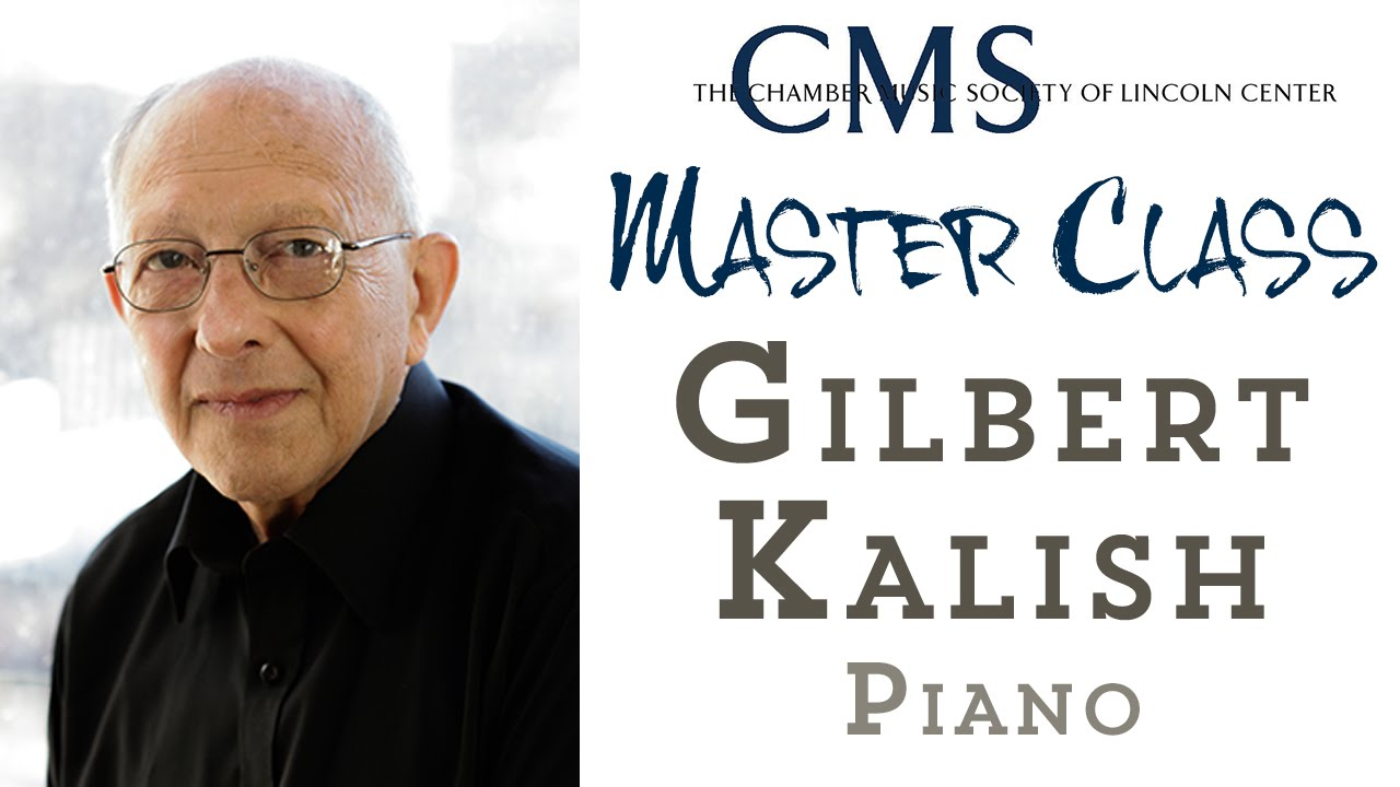 Master Class with Gilbert Kalish, piano