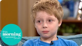 The Eight-Year-Old Boy Pleading a Pharmaceutical Giant to Lower Its Prices | This Morning