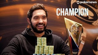 Timothy Adams wins 50k Super High Roller!