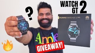 Huawei Watch GT 2 Unboxing & First Look + Giveaway | Premium Performance Inside🔥🔥🔥