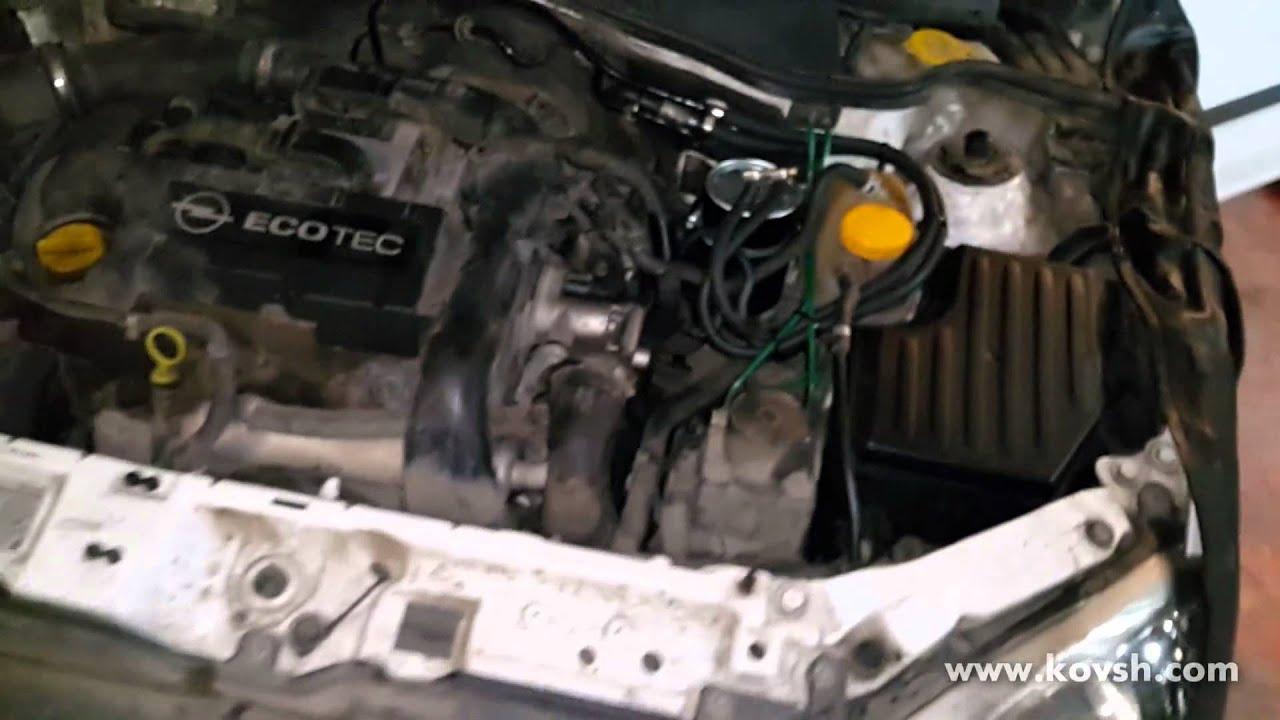 Откуда подсос воздуха на Opel Combo C 1.7D CDTi, и как с ним бороться