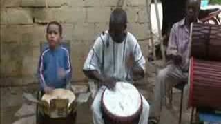 mind blowing 6 yr old djembe drummer