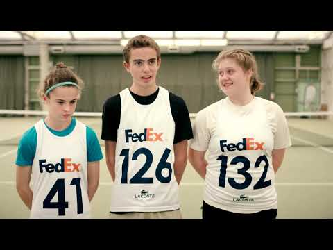 Training With The FedEx ATP Ball Kids