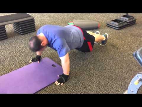 Saltzman Circuit Workout - Push Ups until Failure