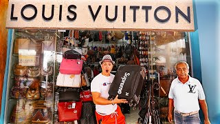 Shopping at the Fakest Louis Vuitton Store in Mexico