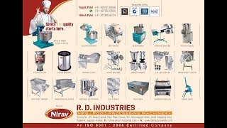 R.D. industries/food processing machinery/ kitchen equipments