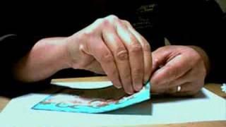Cricut glitter card
