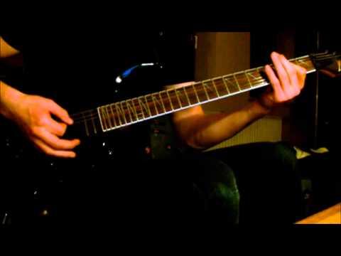 ManOwaR - Hail, Kill and Die Guitar Cover w/solo (HD)
