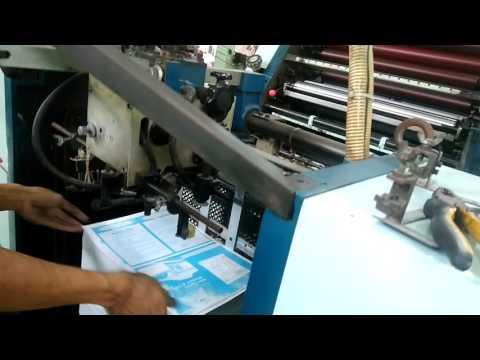"""mesin cetak oliver58 sakura """"cara setting kertas cetak"""""""