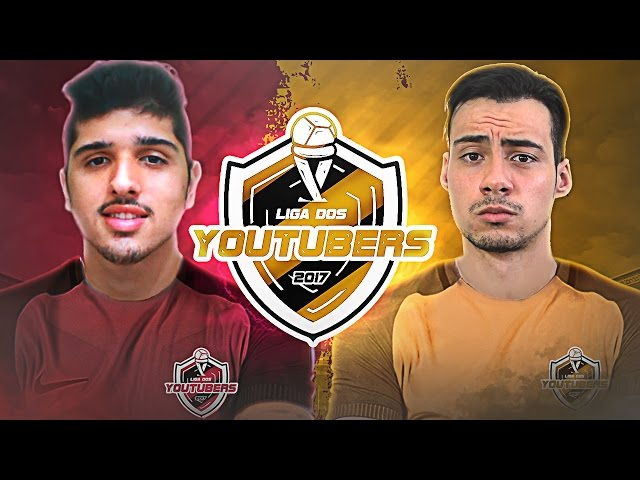 MILK vs MUUH - LIGA DOS YOUTUBERS 2017!!!
