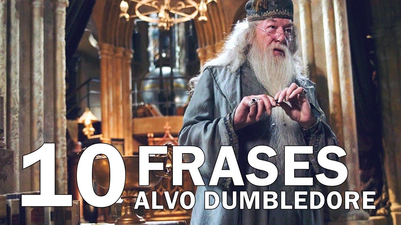 10 Frases Memoraveis De Alvo Dumbledore Youtube