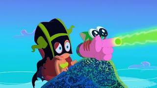ZIG e SHARKO 😆 Marina misteriosa 😆 Português Brasil   Cartoon for Kids