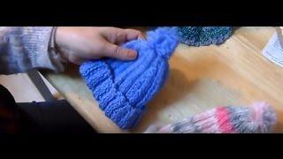 Caciula tricotata - Fes tricotat cel mai usor model pentru incepatori
