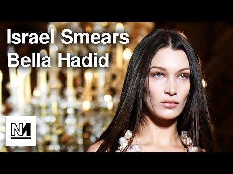 Israel SMEARS Bella Hadid For Palestine Post