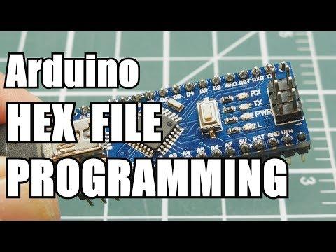 Arduino Hex File Programming / Forth Programming Language