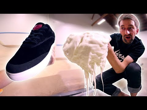 Thumbnail: THE FIRST EVER NON NEWTONIAN FLUID SKATE SHOES!?