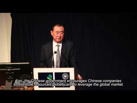 Wanda's Wang Jianlin Speaks at the University of Oxford (Part 1 - English subs)