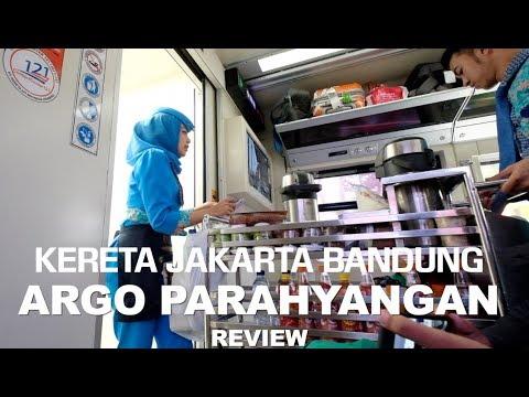 REVIEW KERETA JAKARTA- BANDUNG ARGO PARAHYANGAN