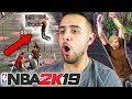 NBA 2K19 Bouncy Cages - Dunking On Everyone With A 5'10 Slasher! (NBA 2K19 MyPARK)