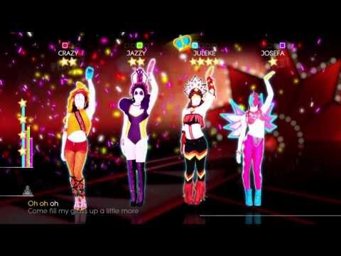 Just Dance 2014 Wii U Gameplay - Nicki Minaj: Pound the alarm
