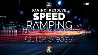 How to Speed Ramp in DaVinci Resolve - 5 Minute Friday #16