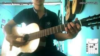 Bài 8: Hướng dẫn chơi Guitar điệu Bossa Nova bài hát Tàn Tro