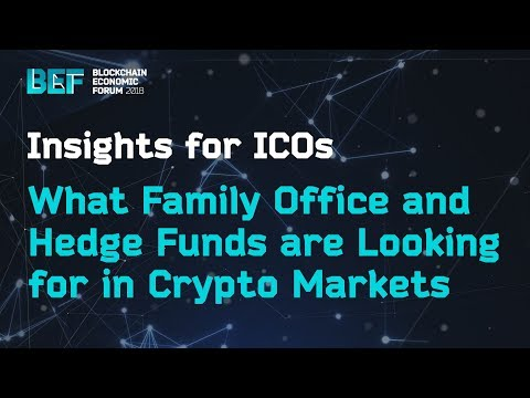 What Family Offices and Hedge Funds are Looking for in Crypt
