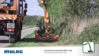 MULAG Buschhackerrotorkopf BRK 1200