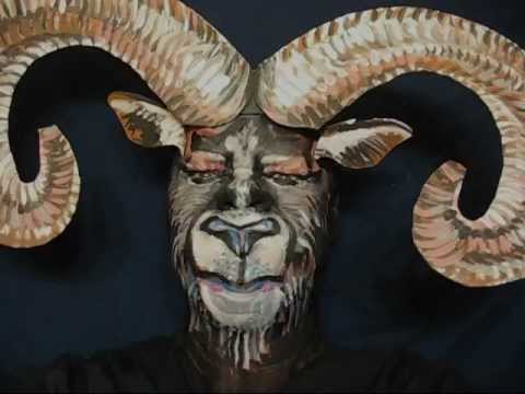 silly old goat james kuhn face paint in motion youtube