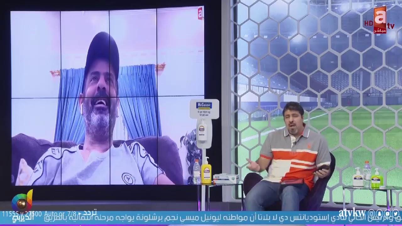 مبارك الدوسري لـ عطية: تزوير الحقائق مو زين.. تطلع وتقول #سامي_الجابر مسجّل 20 هدف مع المنتخب!!