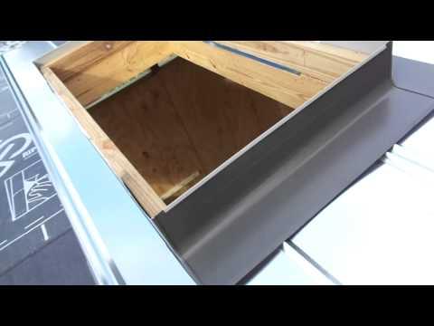 Velux Skylight Flashing Galvanized Roof 12 11 2014 Youtube