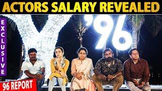 EXCLUSIVE: 96 & Ratchasan Movie Actors Salary Revealed | Vijay Sethupathi | Vishnu vishal | Trisha