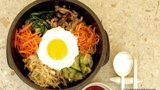 How To Make Dolsot Bibimbap (authentic Bibimbap Recipe), Beef Bibimbob With Vegetarian Option
